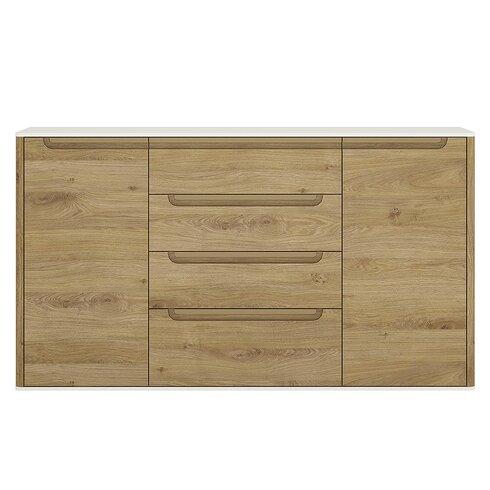 Burrell 2 Door 4 Drawer Sideboard