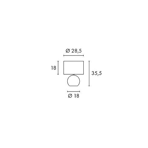 54 cm Tischleuchte Solid