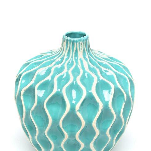 Wade Logan Bristol 3 Piece Vase Set Amp Reviews Wayfair