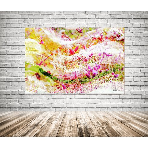 Countryside Colour Wilderness Graphic Art Wrapped on Canvas