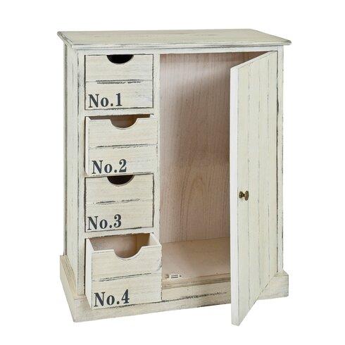 1 Door 4 Drawer Combi Chest