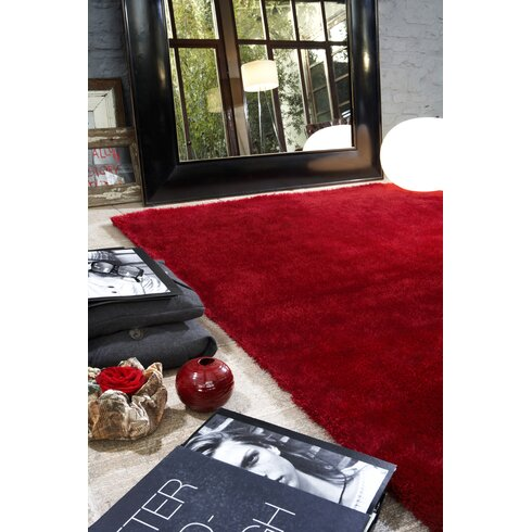 Vienne Coral Red Area Rug