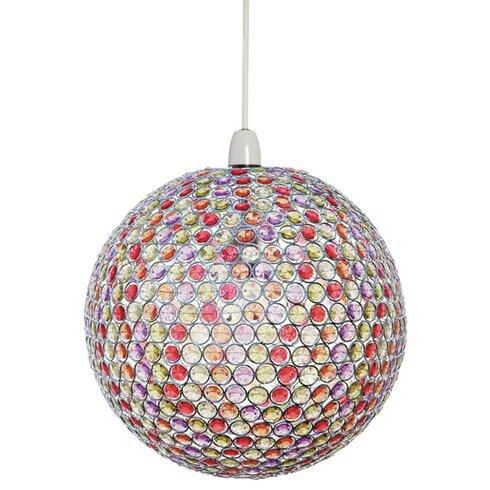 29.5cm Siri Glass Sphere Pendant Shade