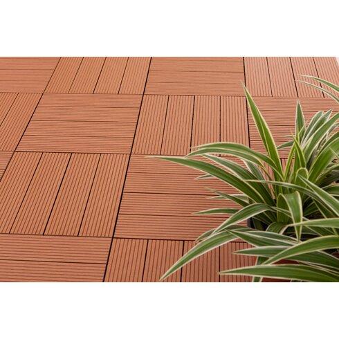 vifah composite teak 12 x 12 interlocking deck tiles. Black Bedroom Furniture Sets. Home Design Ideas