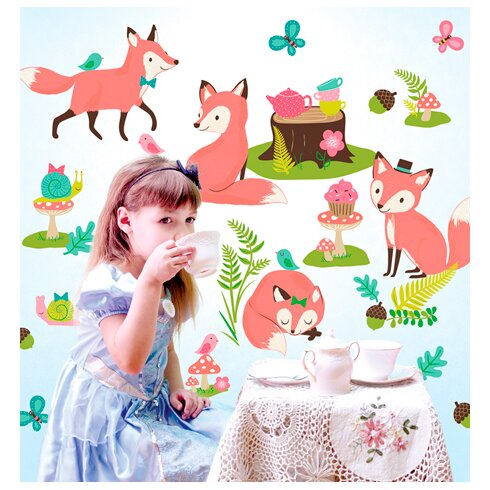 wallies woodland tea party wall mural wayfair disney princess garden party wall mural wallpaper mural