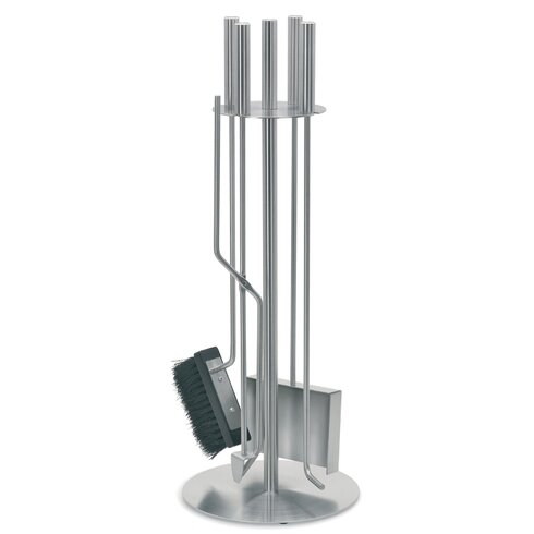 Chimo 5 Piece Stainless Steel Fireplace Tool Set