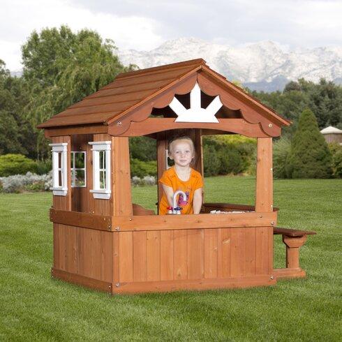 backyard discovery scenic playhouse reviews wayfair