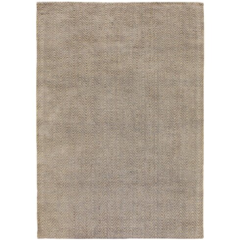 Ives Hand-Woven Brown Area Rug