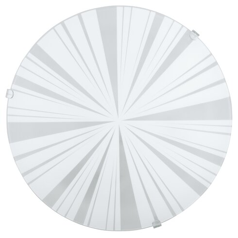 Mars 1 Light Flush Wall/Ceiling Light