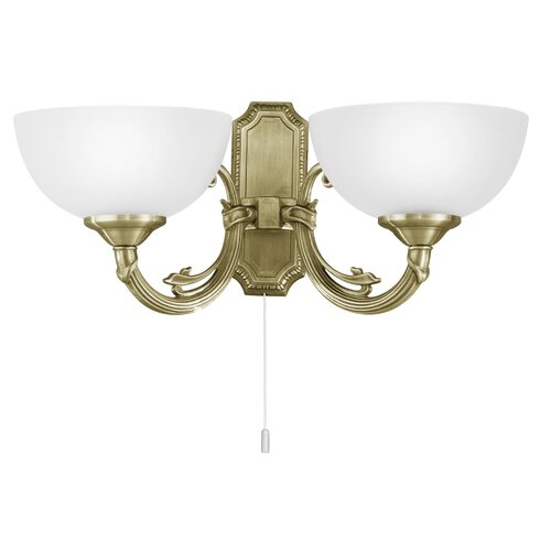 Savoy 2 Light Outdoor Wall Light
