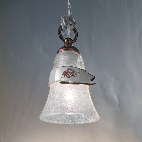 Venezia 1 Light Bowl Pendant Lamp