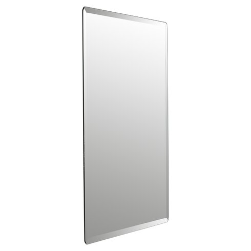Wade Logan Kayden Frameless Beveled Wall Mirror Amp Reviews