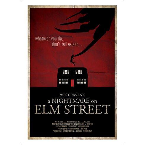 The Art of Film - A Nightmare on Elm Street Vintage Advertisement