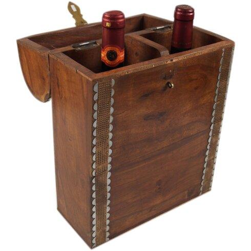 Wein und Sektflaschen Box Karabi