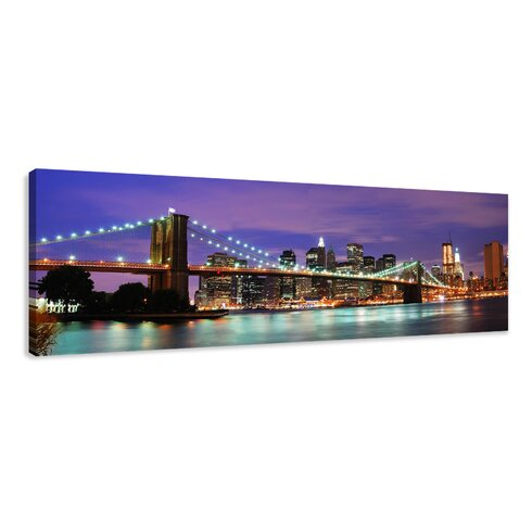 New York Photographic Print Wrapped on Canvas