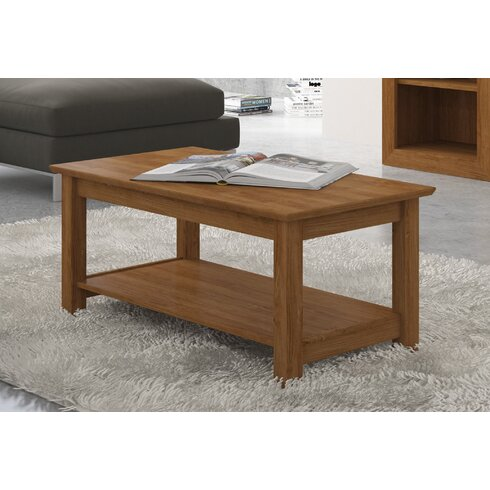 Coffee Table with Magazine Rack