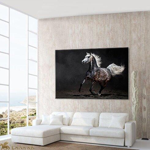 Arabian Graphic Art on Canvas