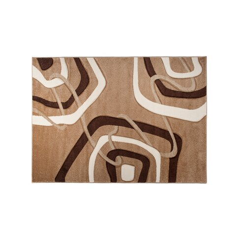 Amatrix Dark Beige Area Rug