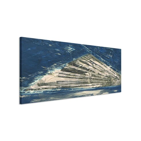 Enigma Panorama Abstrakt 868 Framed Graphic Print on Canvas