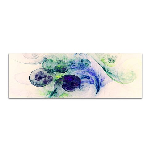Enigma Panorama Abstrakt 319 Framed Graphic Print on Canvas