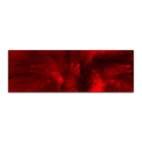 Enigma Panorama Abstrakt 326 Framed Graphic Print on Canvas