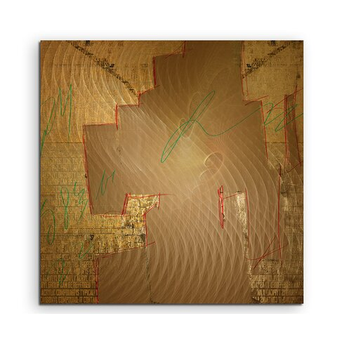 Enigma Abstrakt 1271 Framed Graphic Print on Canvas