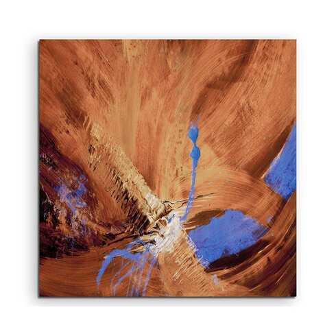 Abstract 638 Enigma Framed Graphic Print on Canvas