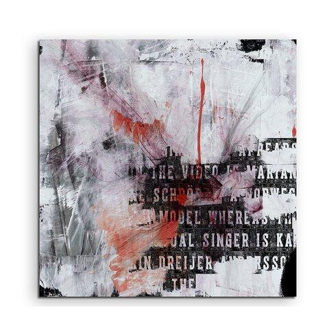 Enigma Abstrakt 742 Framed Graphic Print on Canvas