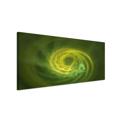Enigma Panorama Abstrakt 1459 Framed Graphic Print on Canvas