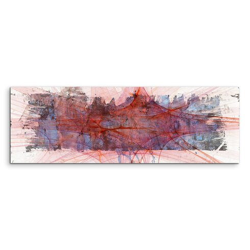 Enigma Panorama Abstrakt 1201 Framed Graphic Print on Canvas