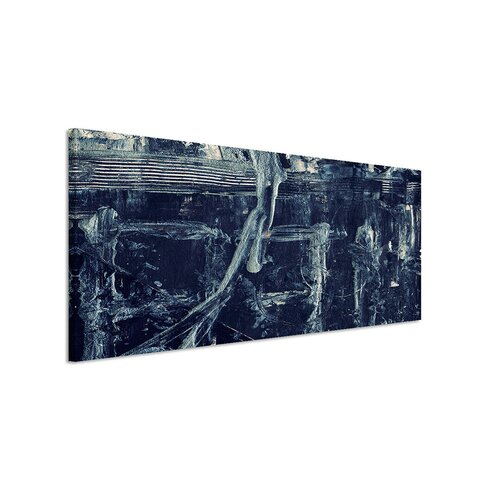 Enigma Panorama Abstrakt 959 Framed Graphic Print on Canvas