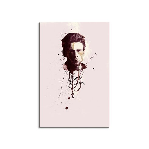 James Dean III Enigma Framed Graphic Print on Canvas