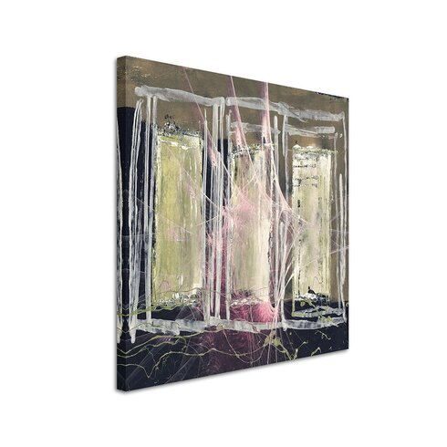 Enigma Abstrakt 1246 Framed Graphic Print on Canvas