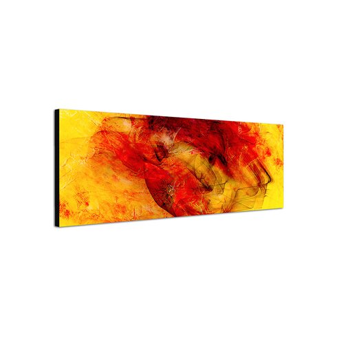 Enigma Panorama Abstrakt 240 Framed Graphic Print on Canvas