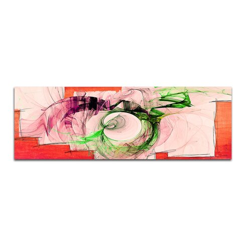 Enigma Panorama Abstrakt 250 Framed Graphic Print on Canvas