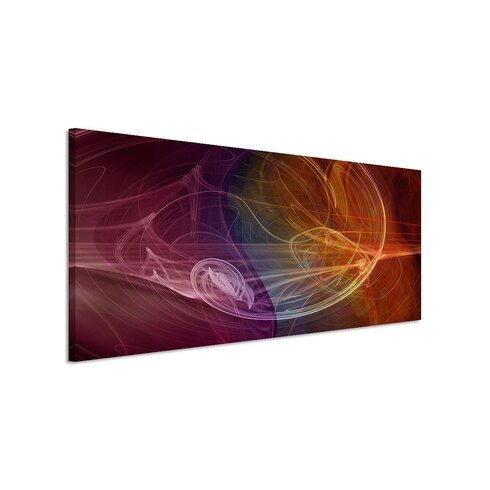 Enigma Panorama Abstrakt 1060 Framed Graphic Print on Canvas