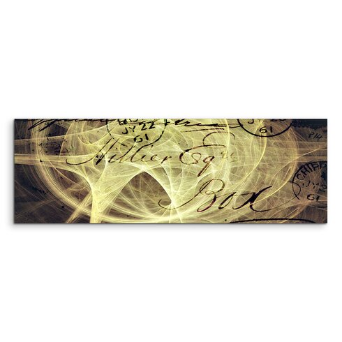 Enigma Panorama Abstrakt 1275 Framed Graphic Print on Canvas