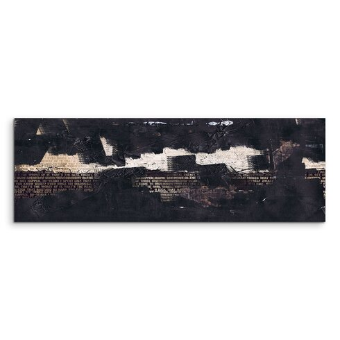 Enigma Panorama Abstrakt 842 Framed Graphic Print on Canvas