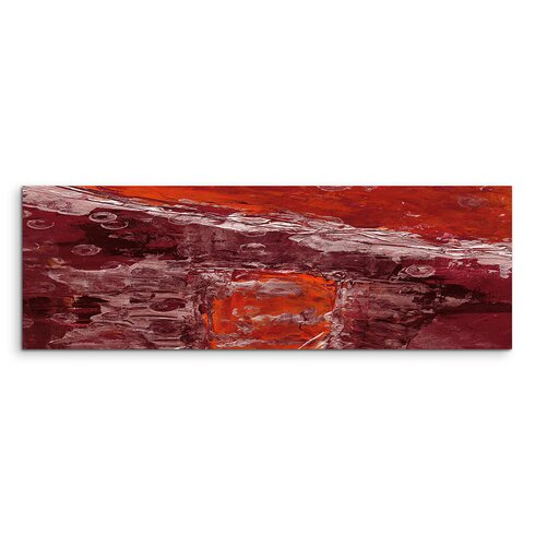 Enigma Panorama Abstrakt 765 Framed Graphic Print on Canvas