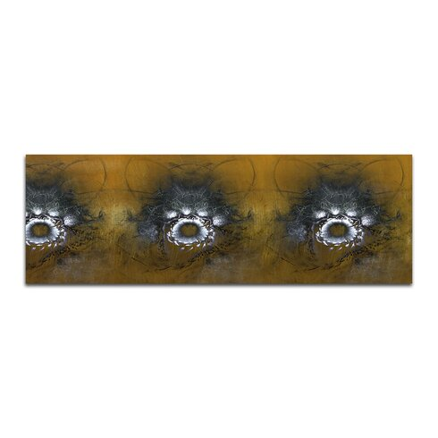 Enigma Panorama Abstrakt 425 Framed Graphic Print on Canvas