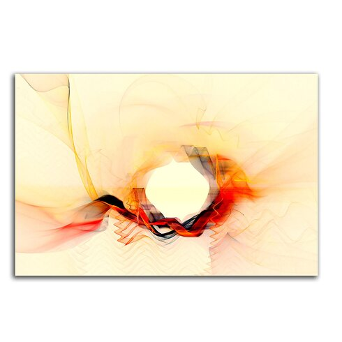 Abstract 167 Enigma Framed Graphic Print on Canvas