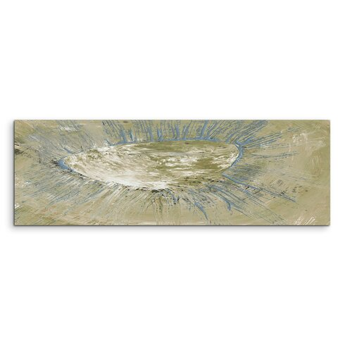 Enigma Panorama Abstrakt 736 Framed Graphic Print on Canvas