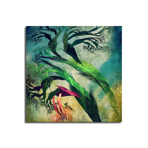 Enigma Abstrakt 081 Framed Graphic Print on Canvas