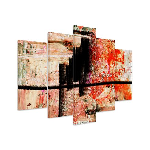 Abstract 847 Enigma 5-Piece Graphic Print