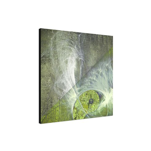 Abstract 439 Enigma Framed Graphic Print on Canvas