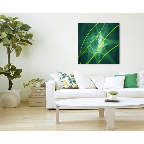 Enigma Abstrakt 1463 Painting Print on Canvas