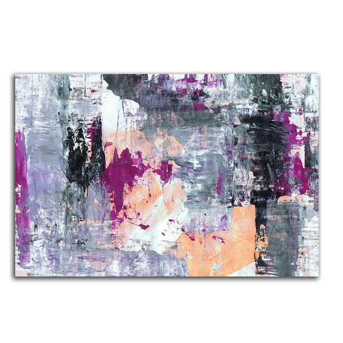 Enigma Abstrakt 006 Painting Print on Canvas