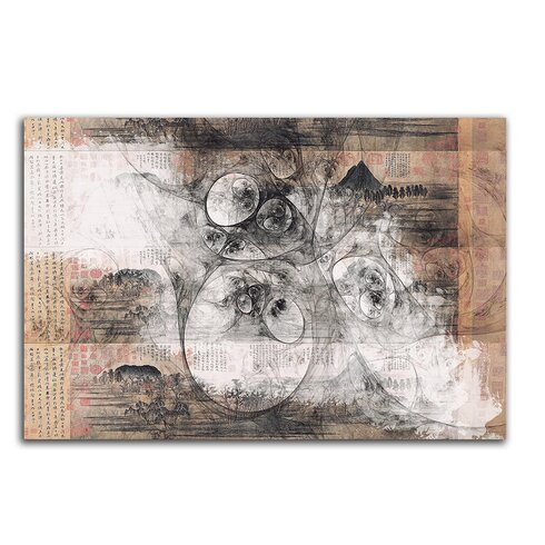 Enigma Abstrakt 500 Painting Print on Canvas