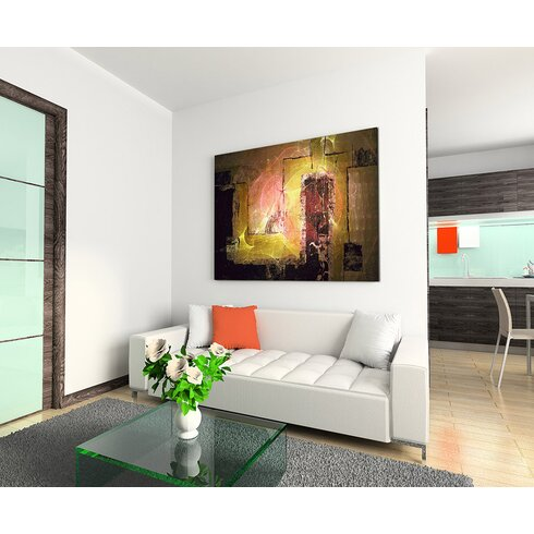 Enigma Abstrakt 1396 Painting Print on Canvas