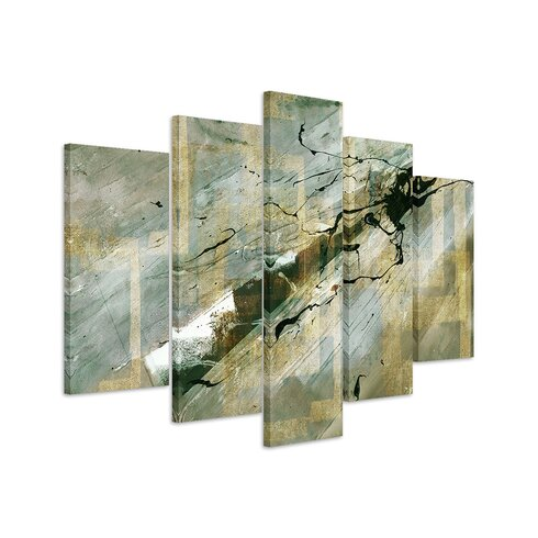 Enigma Abstrakt 557 Painting Print on Canvas Set
